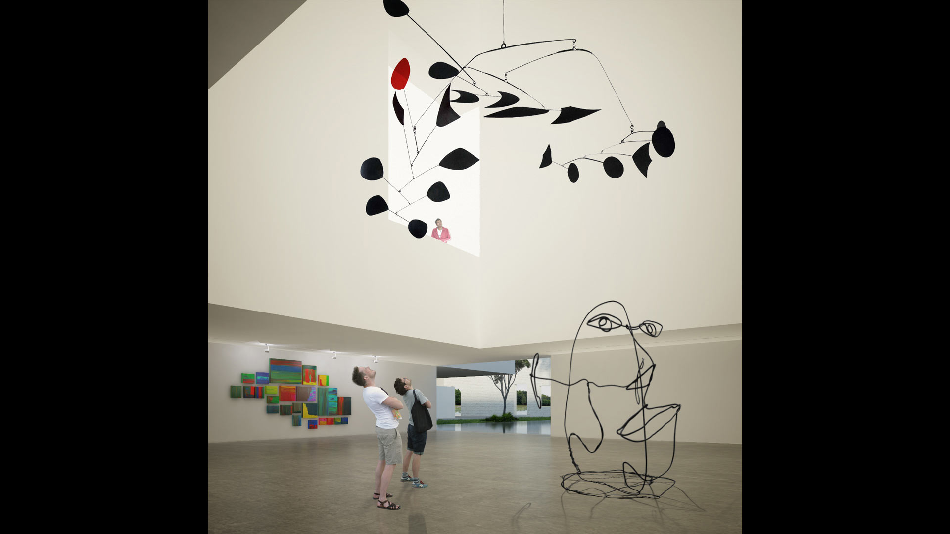 Art Foundation, Mauritius - Competition Image - 3D Visualisation
