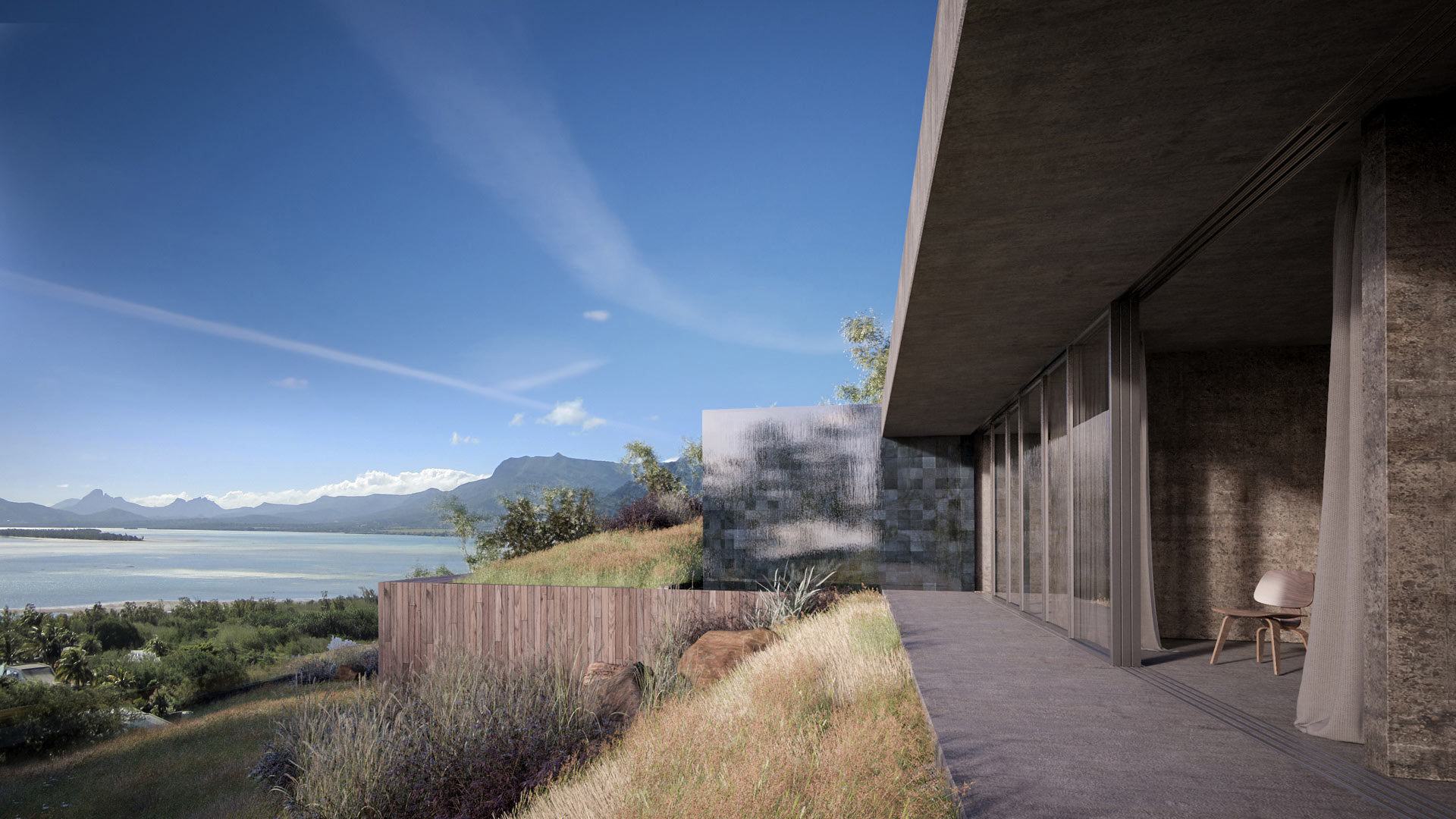 Le Morne Mauritius Luxury Eco Villas - 3D Visualisation