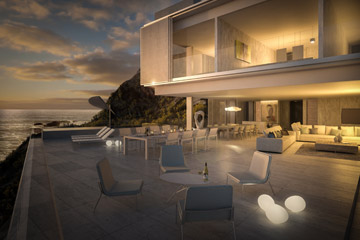Terri Brown 3D visualisation Vray 3DS Max Cape Town Coast Luxury Modern Marble