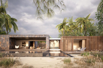 3D Visualisation 3ds max Terri Brown Architecture Interior Design Vray Mauritius East Coast Tropical Luxury Modern